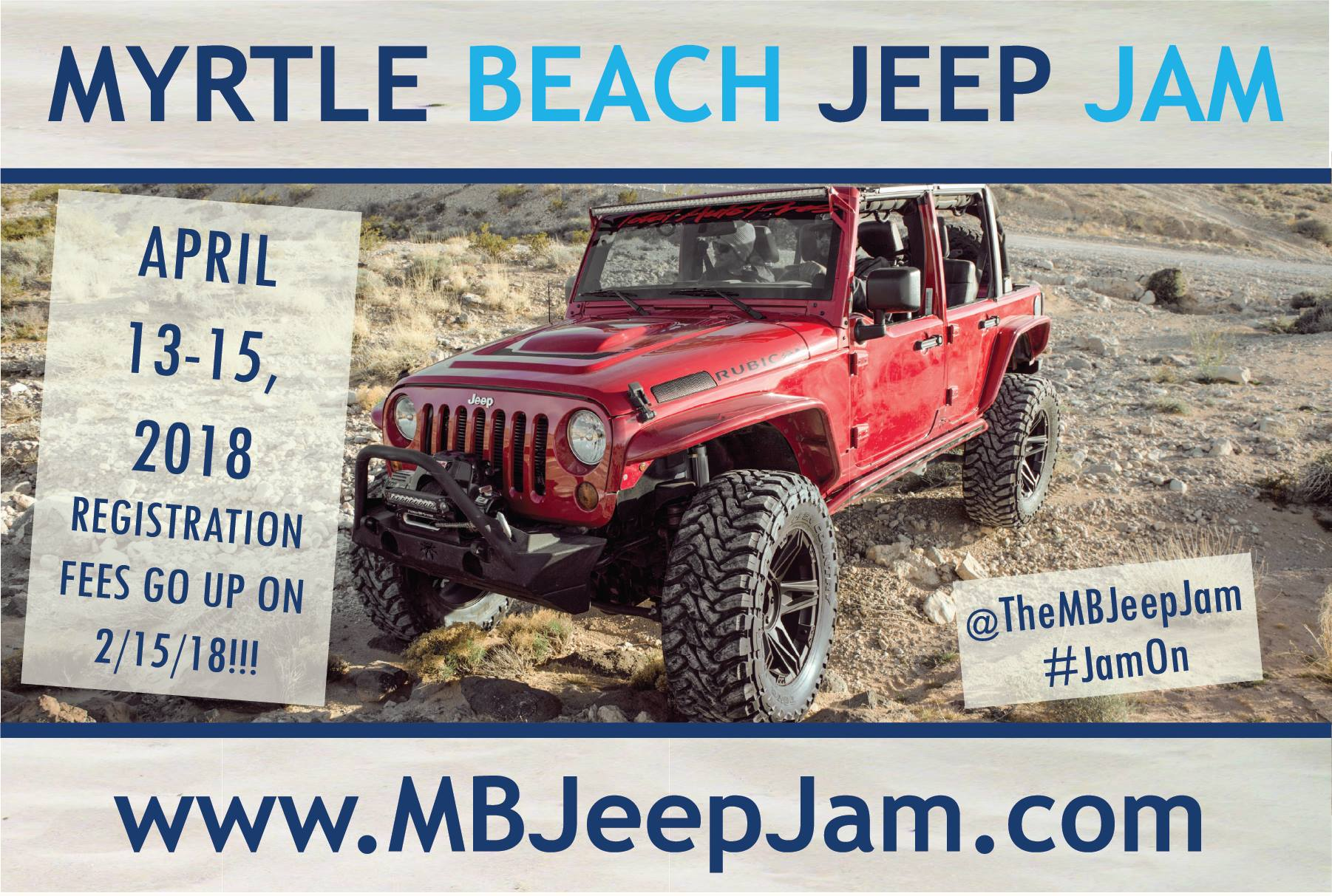 ARE YOU JEEP JAM READY??!!