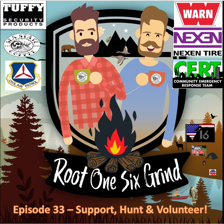 Episode 33 - Support, Hunt & Volunteer