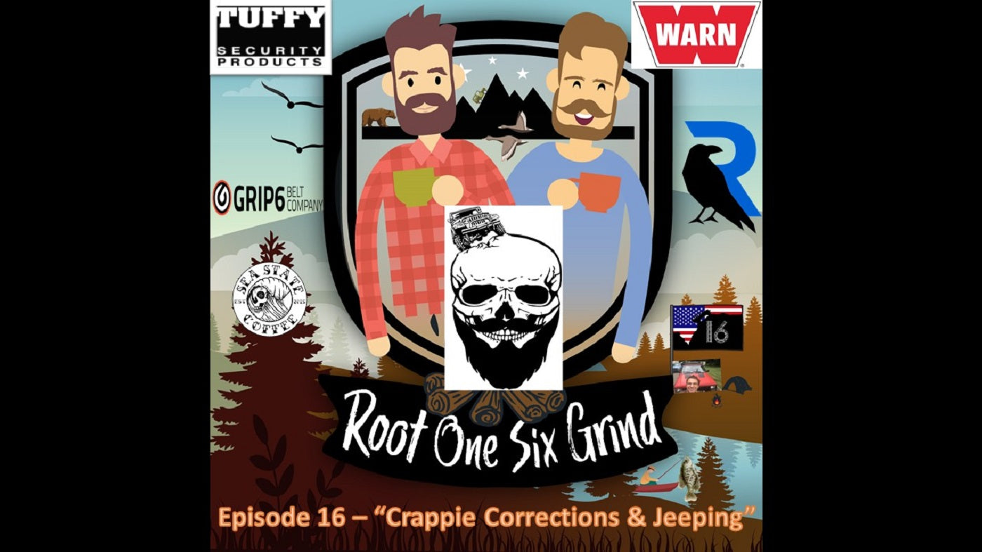 Episode 16 - Crappie Corrections & Jeeping