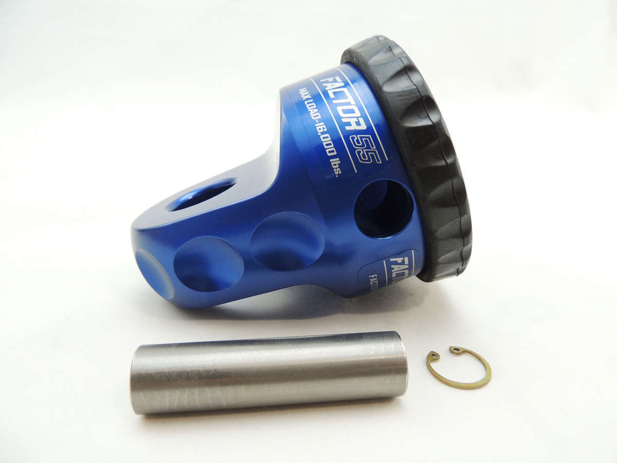 ProLink Winch Shackle Mount Assembly Blue Factor 55