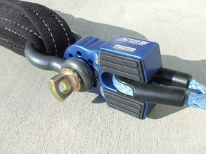 FlatLink Winch Shackle Mount Assembly Blue Factor 55