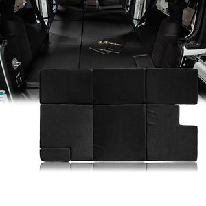 Xprite Black NitePad Premium Portable Sleeping Pad Cushion Fits Jeep Wrangler JKU 2007-2018