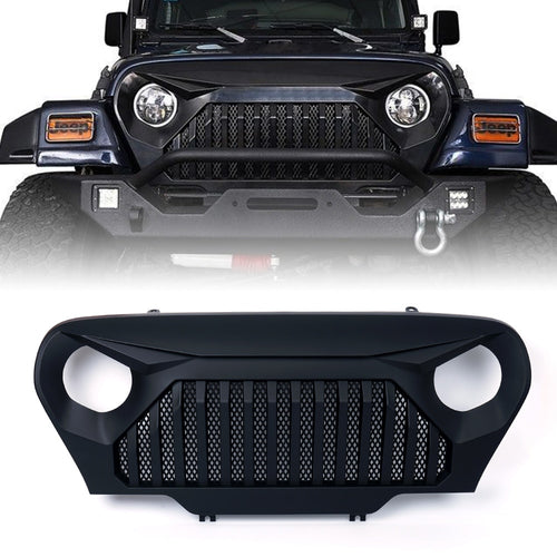 Xprite Gladiator Grille for 1997-2006 Jeep Wrangler TJ