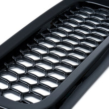 Xprite Black Grille Inserts with Mesh for 2015-2017 Jeep Renegade