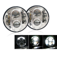 "Xprite 7"" 120W CREE LED G4 Chrome Projector Headlights For 1997-2018 Jeep Wrangler"