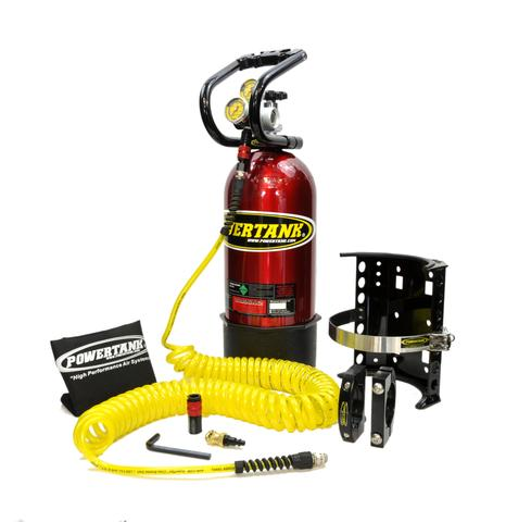 10 LB POWER TANK PACKAGE A W/ TIRE INFLATOR - CO2 TANK PORTABLE AIR SYSTEM