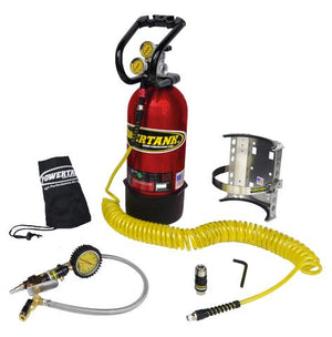 10 LB POWER TANK PACKAGE B W/ TIRE INFLATOR - CO2 TANK PORTABLE AIR SYSTEM