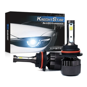 Xprite Knight Star All-IN-ONE CSP LED Headlight Conversion Kit - 9007 HB5