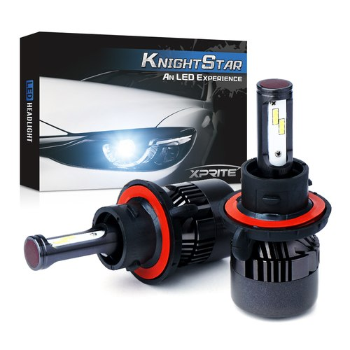 Xprite Knight Star All-IN-ONE CSP LED Headlight Conversion Kit - H13