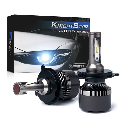 Xprite Knight Star All-IN-ONE CSP LED Headlight Conversion Kit - 9003 H4