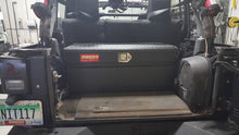 Jeep Wrangler Tool Box JKU 4 Door Black Owens Products