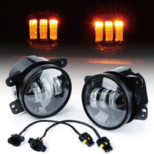 "Xprite Amber 4"" 60W CREE LED Fog Lights"
