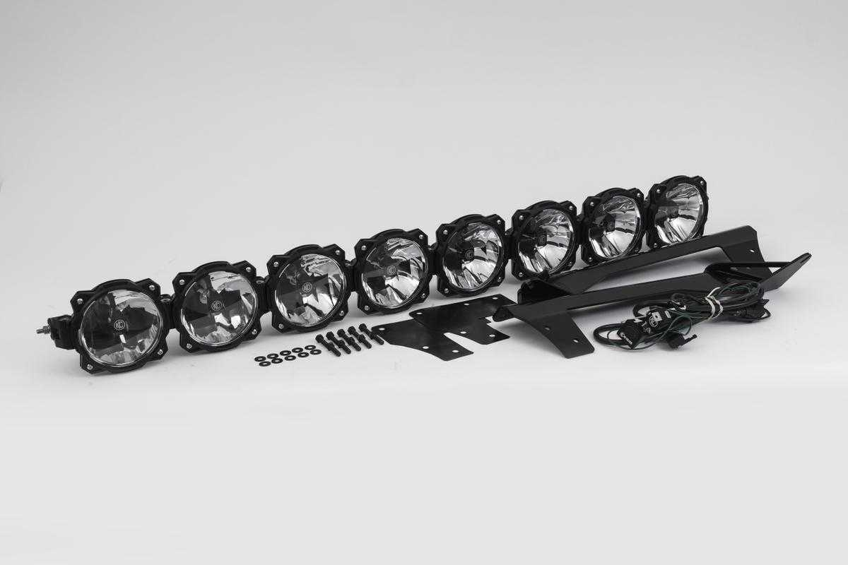 GRAVITY® LED PRO6 09-16 FORD F-150/RAPTOR 8-LIGHT COMBO LED LIGHT BAR