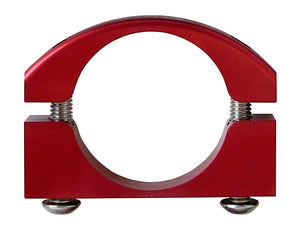 Roll Bar Clamps Large 2.25-2.5 Inch Diameter Red Each Power Tank