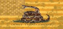 American Gadsden Flag - Don't Tread On Me Grille Insert