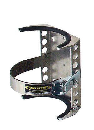 CO2 Tank Bracket 2.5 Lb 4.4 Inch Diameter Aluminum Power Tank