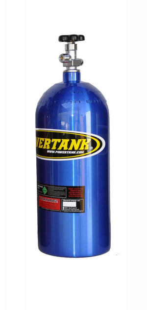 CO2 Tank 10 Lb W/Valve Candy Blue Power Tank