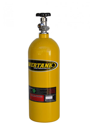 CO2 Tank 5 Lb W/Valve Team Yellow Power Tank