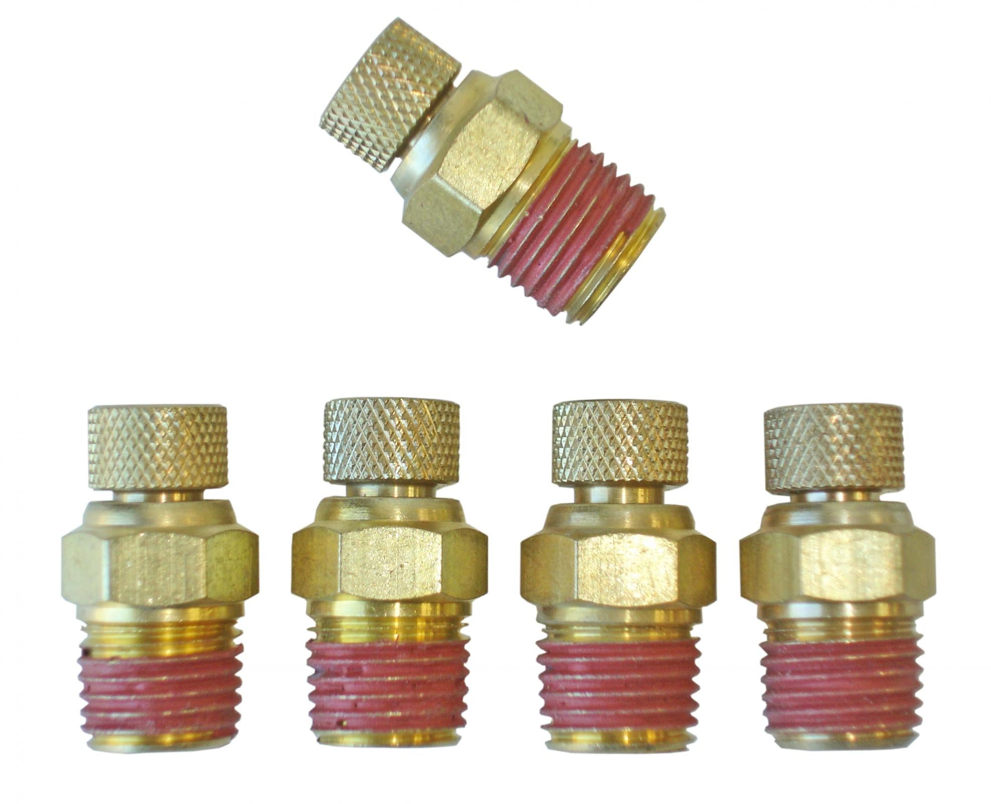 Mini Monster Tire Deflator Valves Set of 5 Power Tank