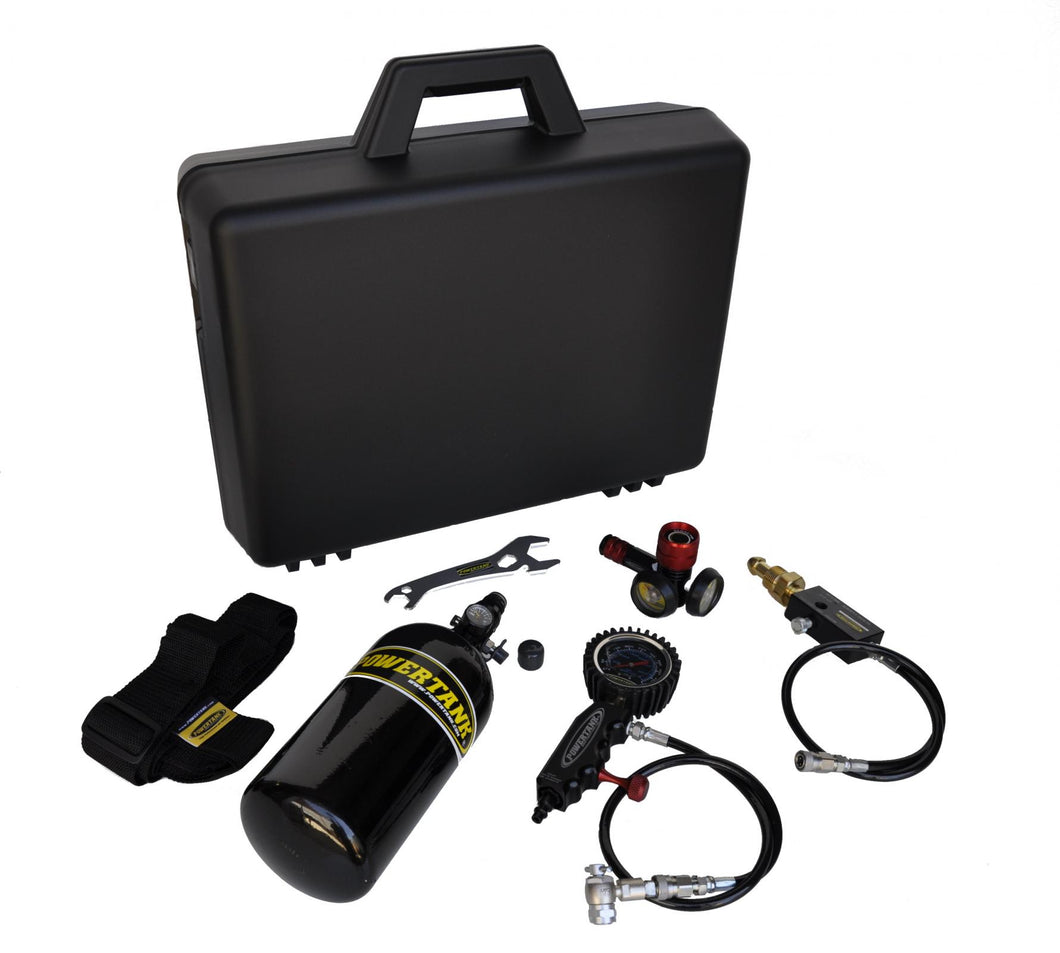 Nitrogen Shock Inflator Kit 400 PSI Power Tank