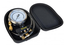 Tire Pressure Pro Test Analog Gauge 100 PSI 4 Inch Gauge W/Case Power Tank