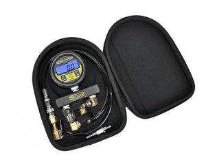 Digital Tire Pressure Test Gauge 100 PSI 2.5 Inch Gauge W/Case Power Tank