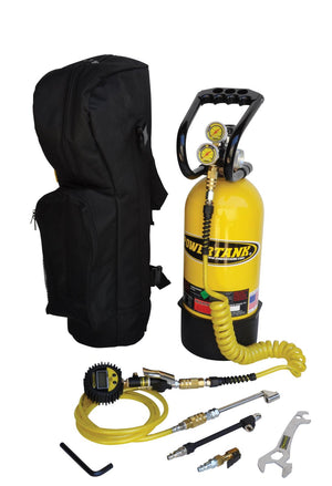 CO2 Tank 10 LB RV Platinum Package Team Yellow Power Tank