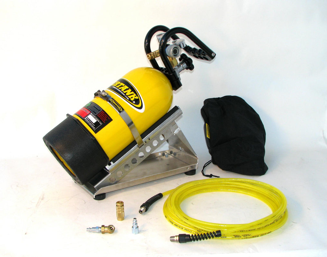 CO2 Tank 10 LB Towman Floor System Package A 30 Ft Coiled Hose Power Tank