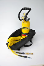 CO2 Tank 5 LB Track Pack Package A System 400 PSI Team Yellow Power Tank