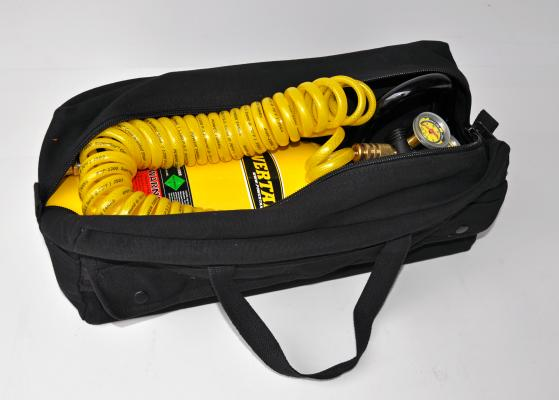 CO2 Tank 5 LB Track Pack Package B System 400 PSI Team Yellow Power Tank