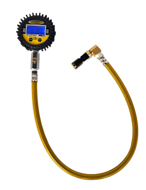 Tire Pressure Gauge Digital Clip On 15 PSI Power Tank