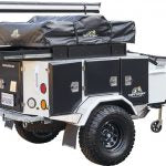 Combo Deal: Tuff Stuff® Xtreme Base Camp Expedition Trailer, Ranger Roof Top Tent and 6.5′ Awning