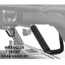 Xprite Black Front and Rear Grab Handles for 2007 - 2018 Jeep Wrangler