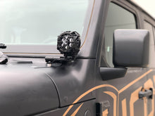 KC 2018-2019 JEEP JL A-PILLAR/WINDSHIELD MOUNT LIGHT KITS