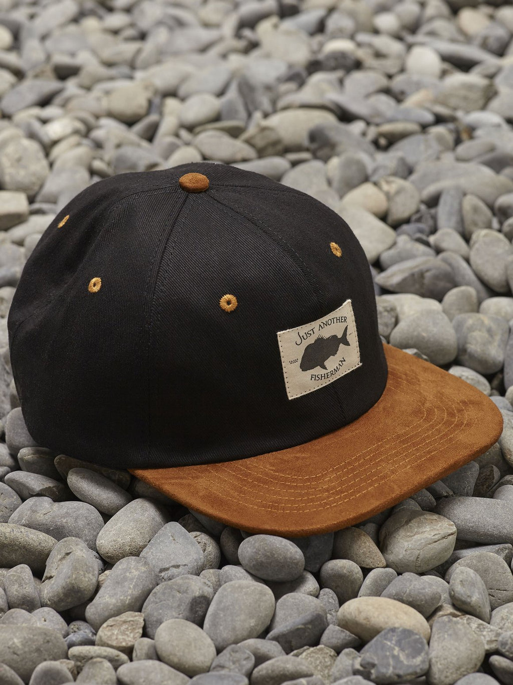 JAF W20 Old Sea Dog Cap Black/Brown