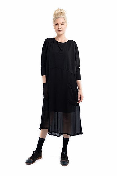Harlowe W20 Jules Dress Black