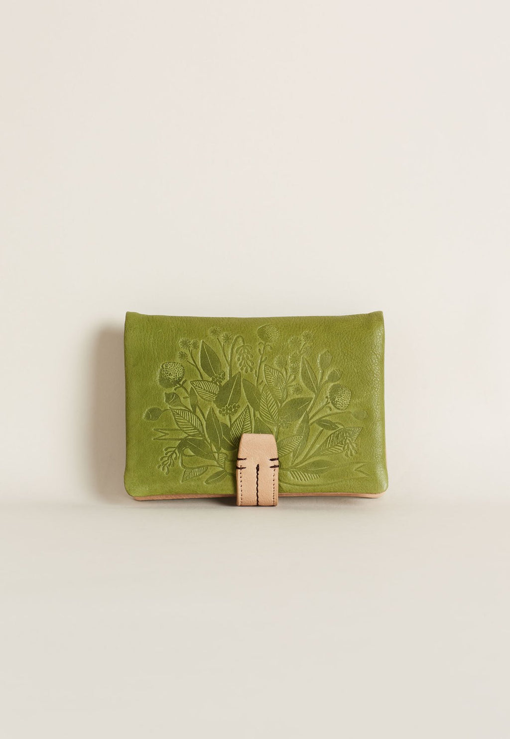 Nancy Bird S20 Bedford Wallet Moss Green