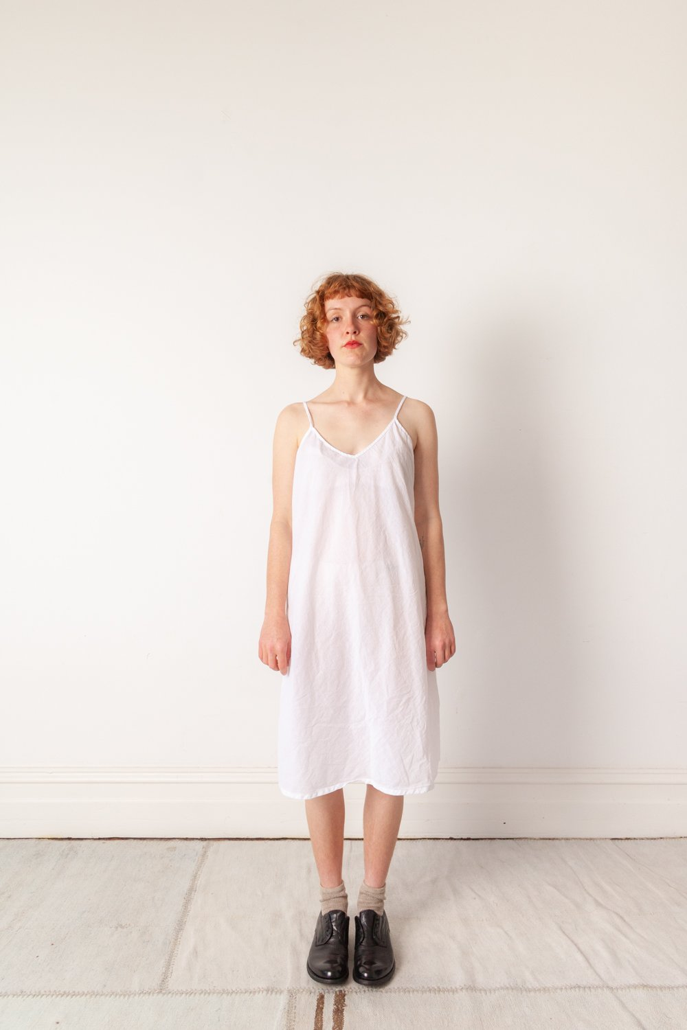 Metta Melbourne Imogen Slip Cotton White