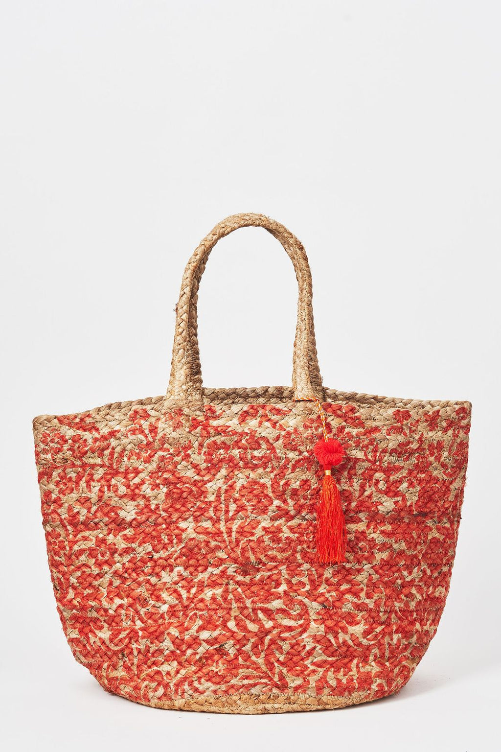 Briarwood S20 Floral Basket Orange