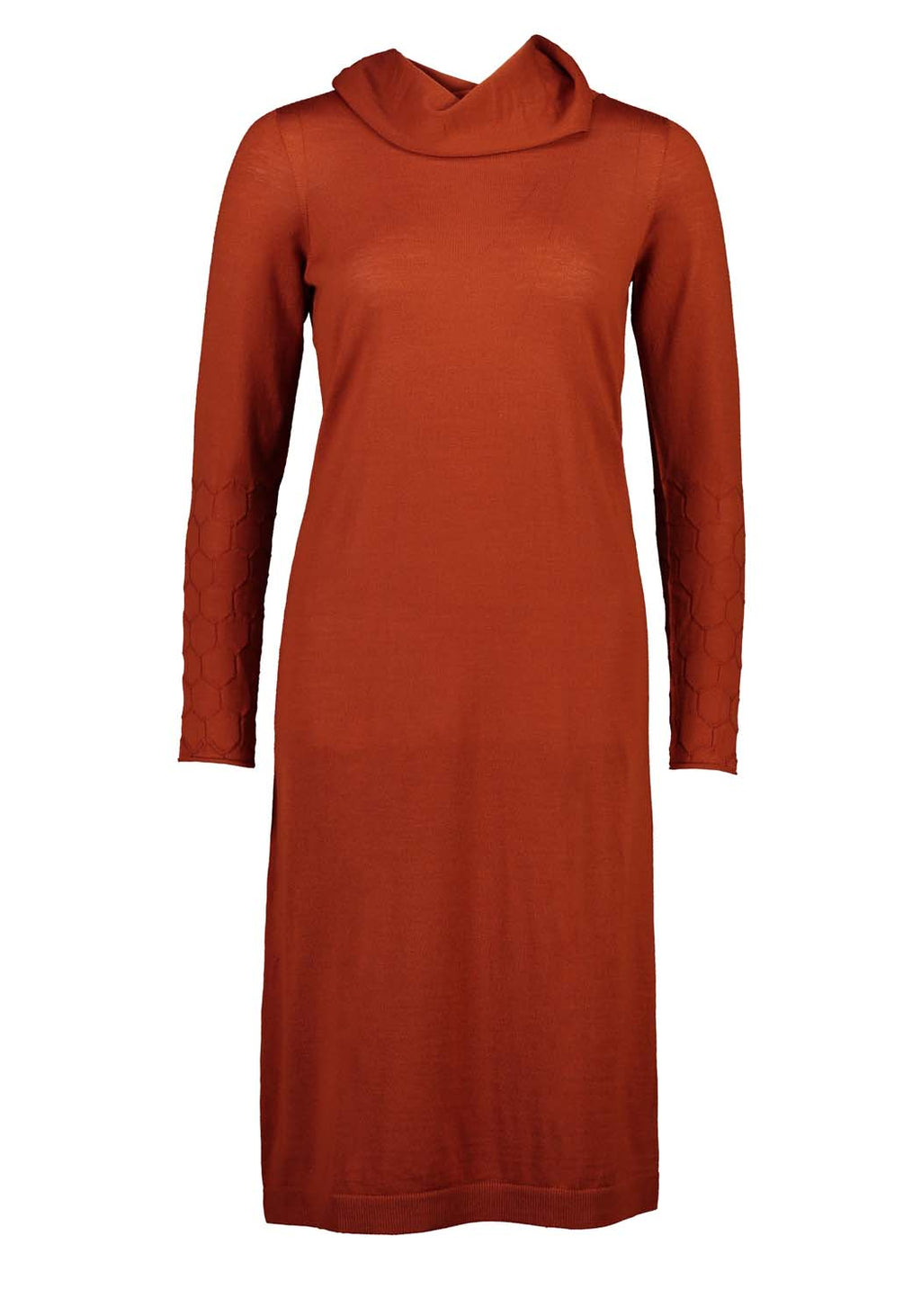 Standard Issue Honeycomb Dress Amber