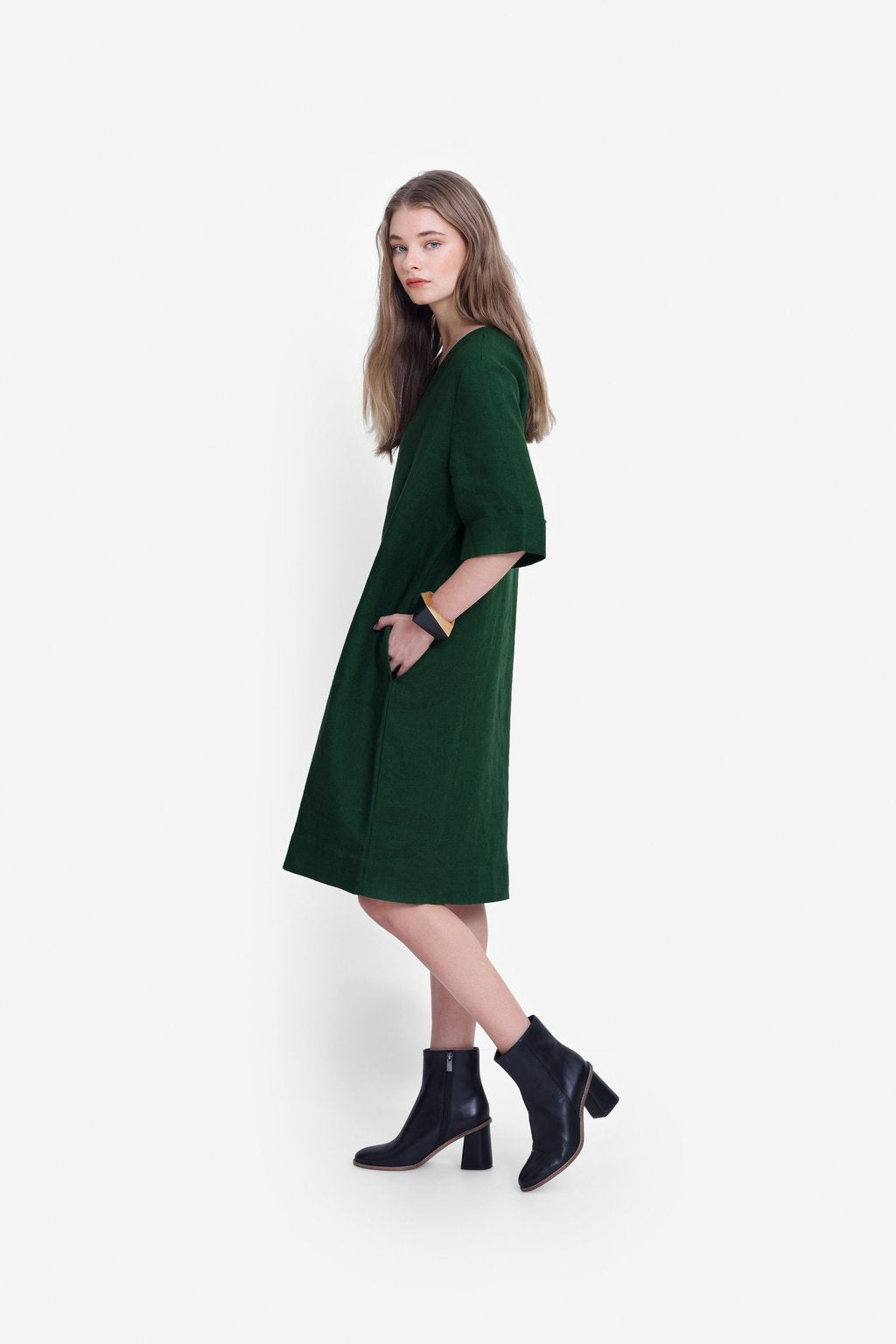 Elk W20 Ilona Dress Pine