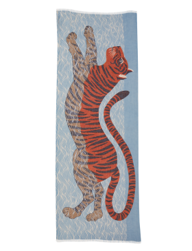 Inoui W20 Cotton Moise Scarf Tiger