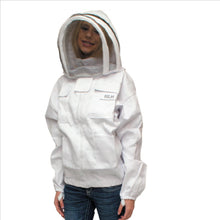 Beekeeping Jacket with Fencing Veil
