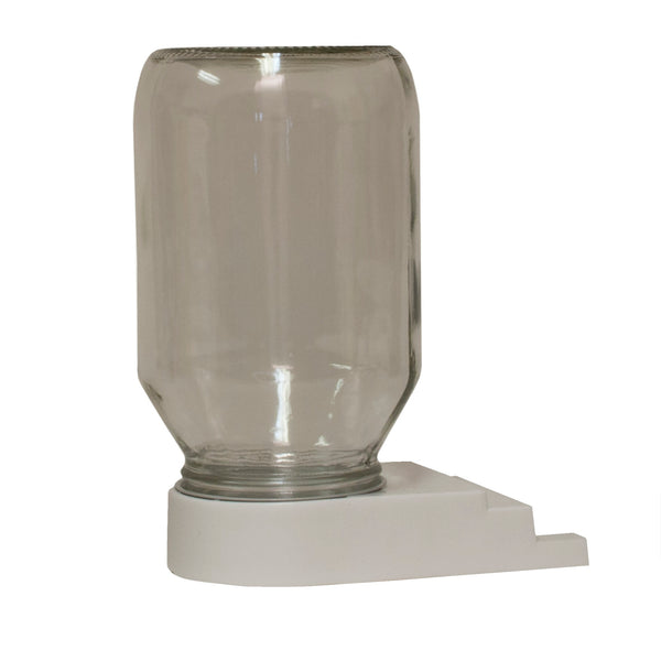 Entrance Feeder With Glass Jar