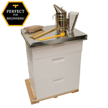 Large Backyard Beekeeping Kit with Accessories