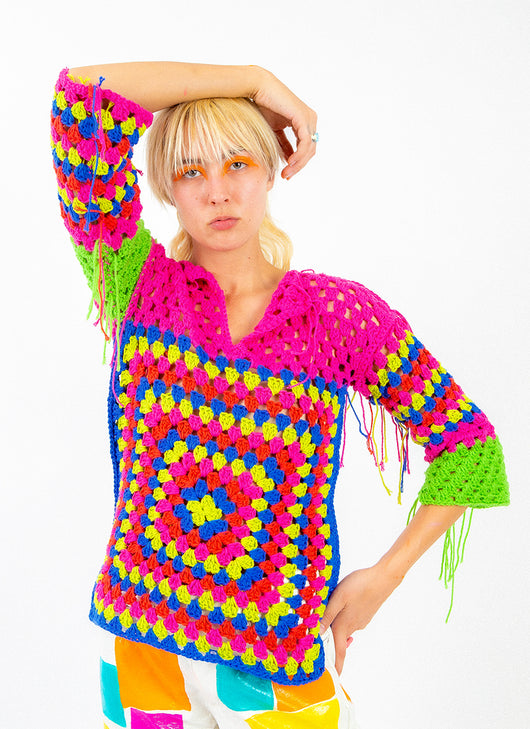 SILLY SUNDAY CROCHET TOP