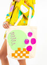 CHECKER BRICK ROAD TOTE