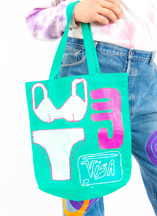SHOPPING SPREE TOTE