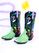 FREAK IN THE NIGHT COWBOY BOOTS (size 9.5)