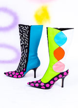 SHE'S FREAKY HEELED BOOTS (size 8.5)
